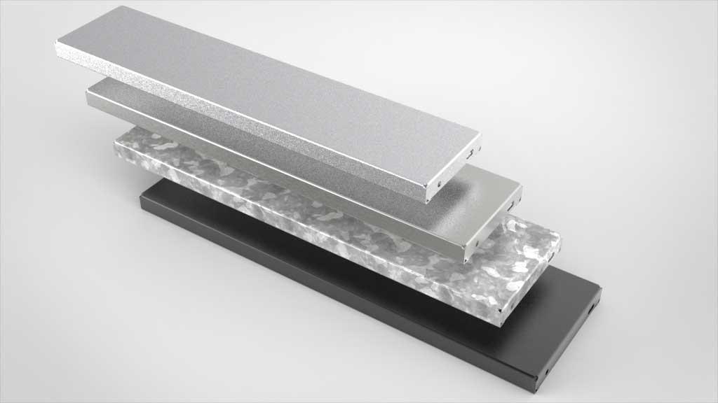 Treppenstufen aus Metall